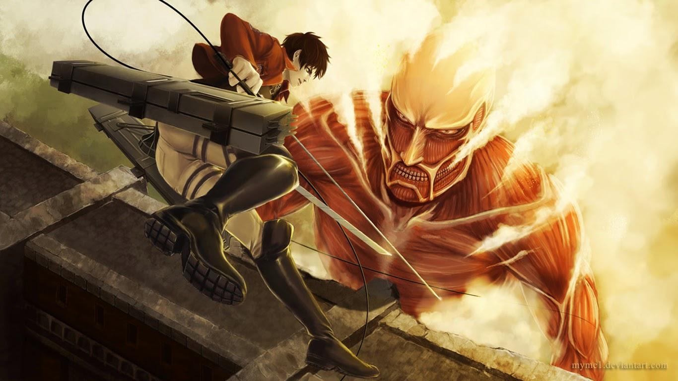 Eren Colossal Titan 2s Wallpaper HD