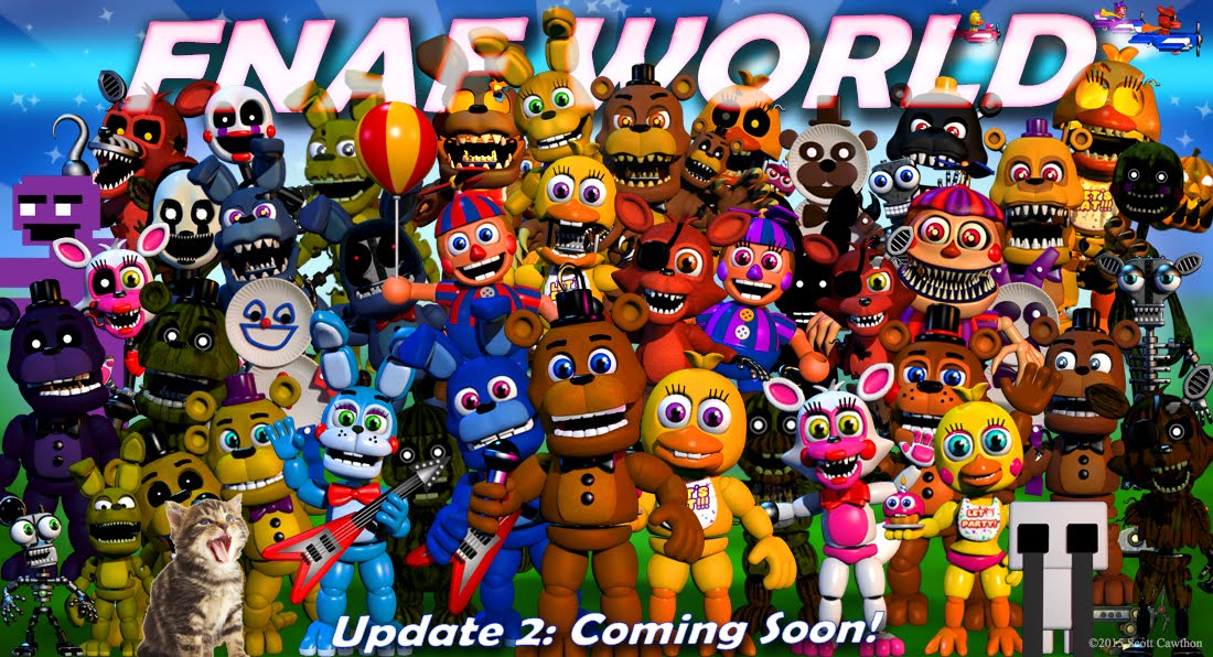 NEW FNAF WORLD CHARACTER April Fools