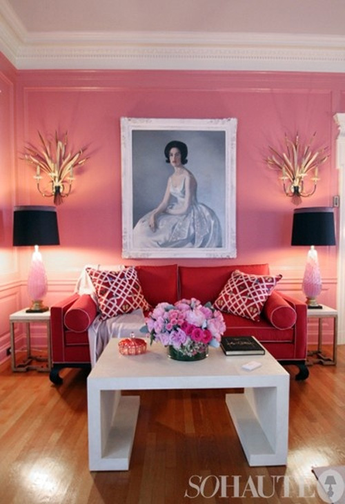 belle maison: Decorating with Art + Exciting Design Contest!