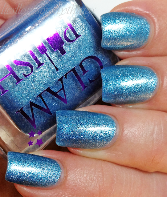 Glam Polish Silvermist swatch and review