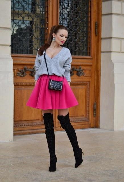 Faldas cortas de temporada