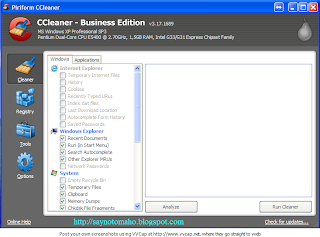 CCleaner Business Edition v3.17.1689