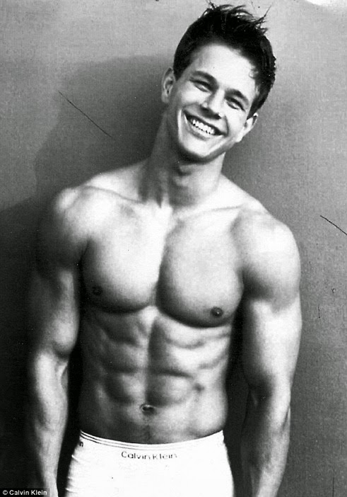 Celebrity crush marky mark and his funky bunch a little