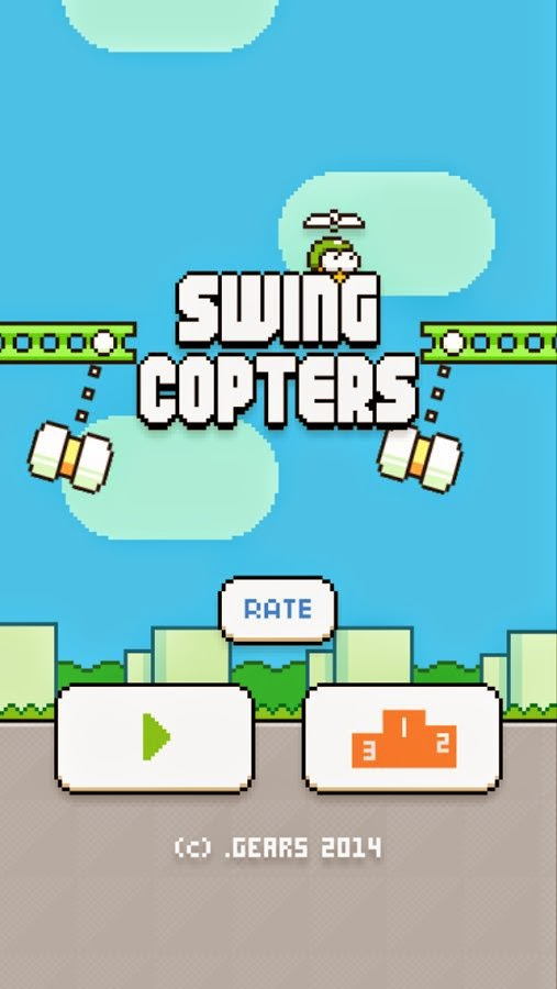 Swing Copters for Android and iOS