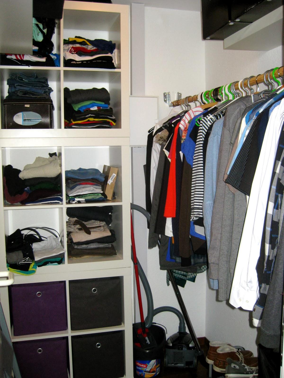 Superieur German Apartment Tour: Closet
