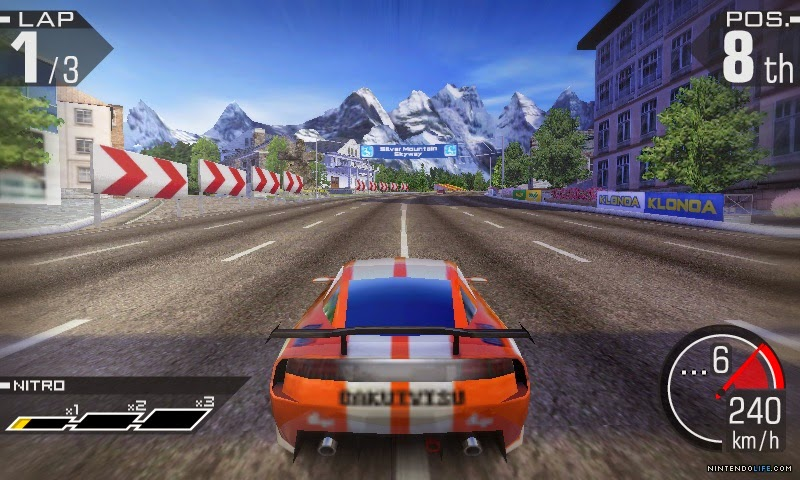3DS Ridge Racer 3D Screenshot