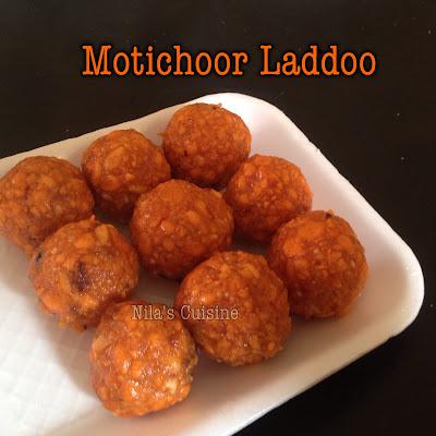 Motichoor Laddoo / Motichur Laddu