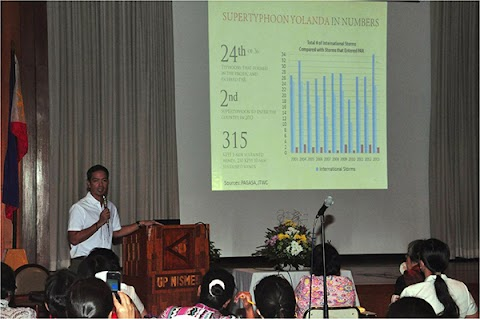 Public lectures on Climate Change and Productive Pedagogy held at NISMED