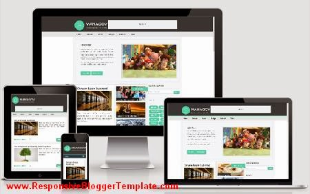Managov Responsive Blogger Template