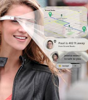 google glass, las gafas del futuro