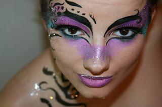 Maquillaje de Hadas, parte 1
