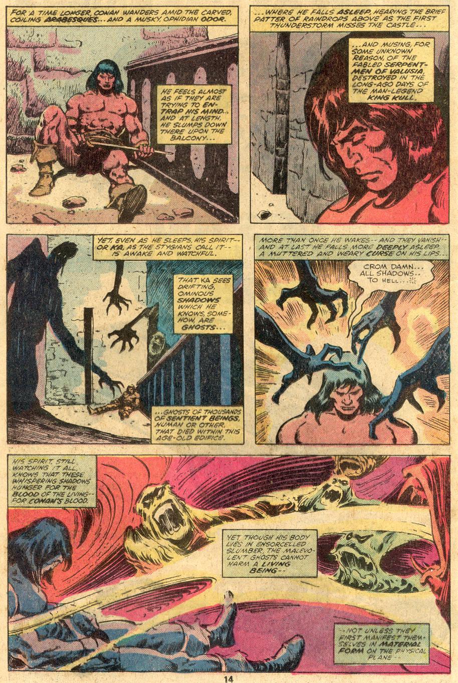 Conan the Barbarian (1970) Issue #105 #117 - English 10
