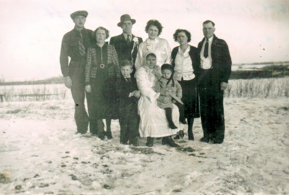 Fred and Mary Demosky Wedding Photo
