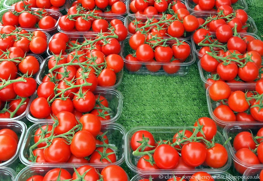 Tomatos! - Marylebone farmers market, London