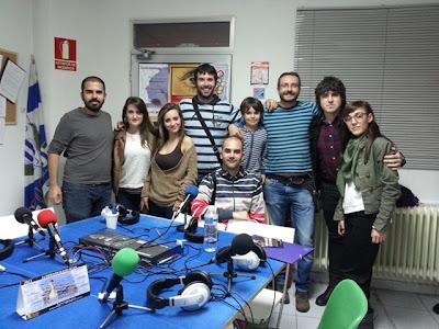 """Equipo del programa¨""""La Huella"""" de www.ecoleganes.org"""
