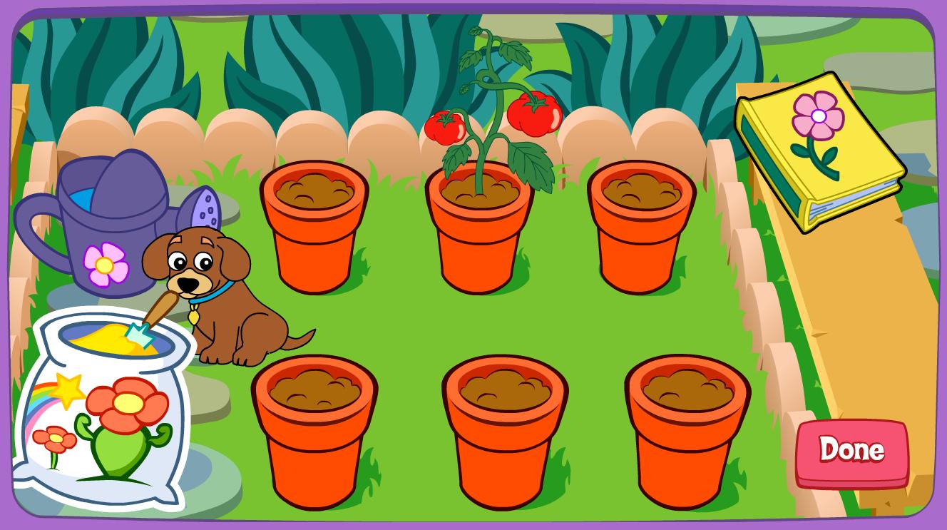 El blog de segundo el jard n m gico de dora for El jardin magico