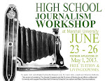 Apply now for 2013 High School Journalism Workshop