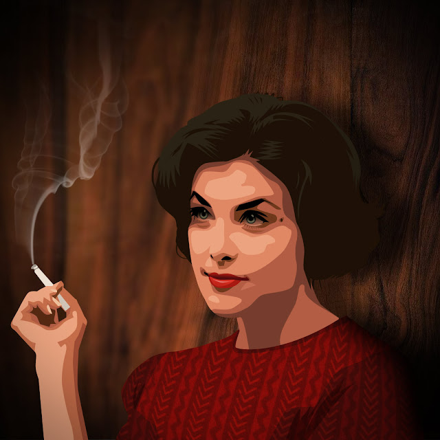 Twin peaks illustrated - Audrey Horne