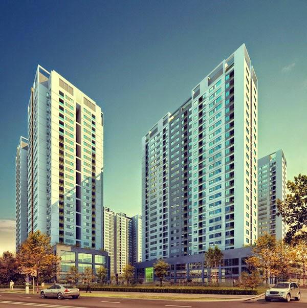 Phối cảnh dự án chung cư 75 Tam Trinh Helios Tower