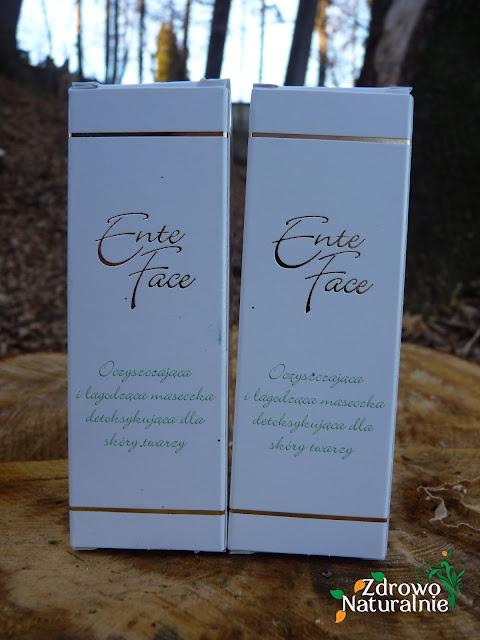 EnteFace - Oczyszczająca i łagodząca maseczka do twarzy