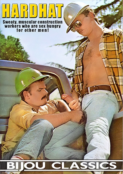 Gay construction worker films