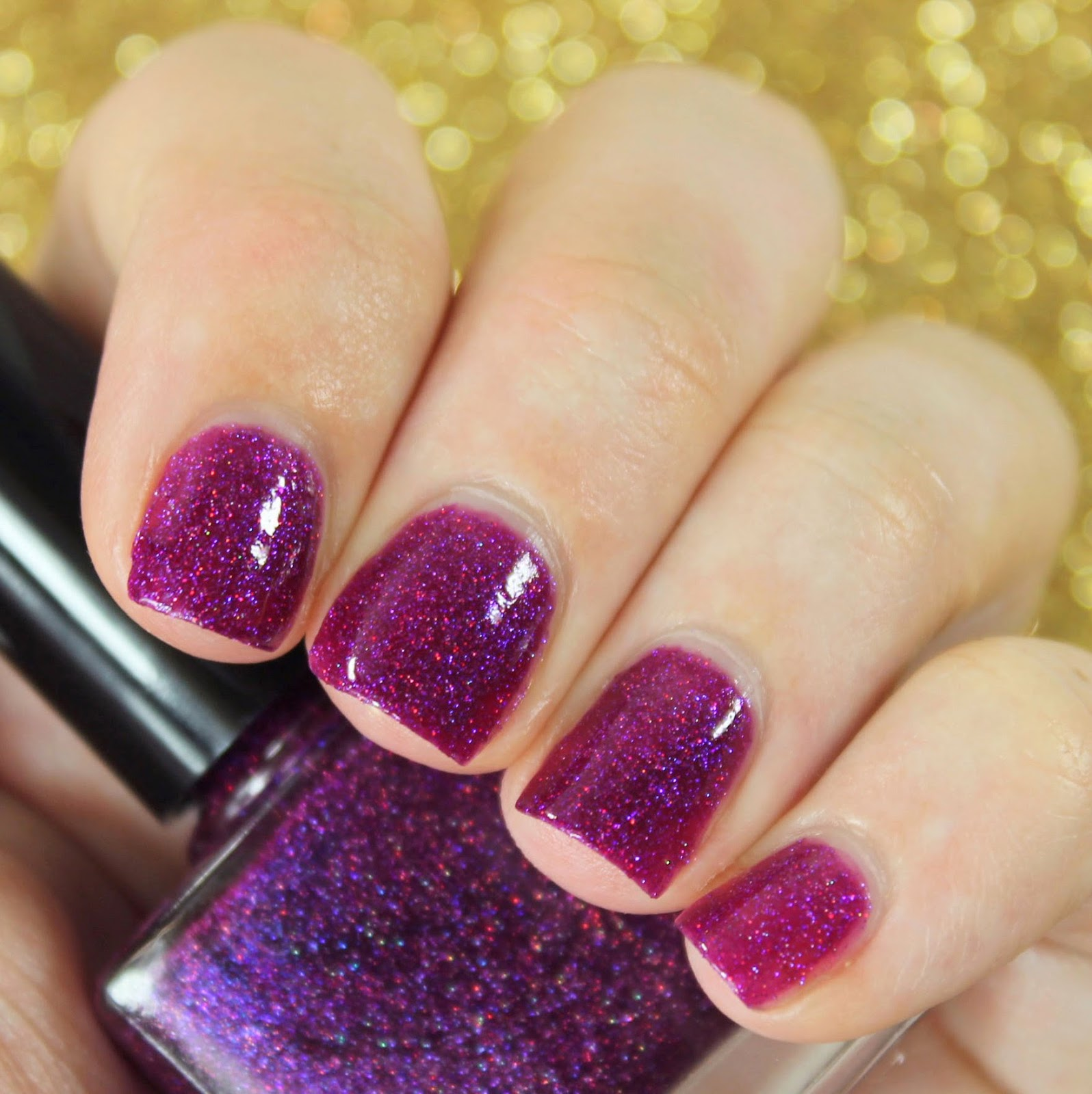 Femme Fatale Cosmetics Touch of Madness nail polish swatches & review