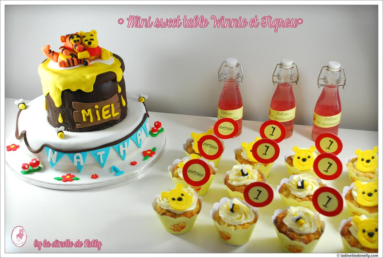 La Dinette De Nelly Mini Sweet Table Et Gateau Winnie
