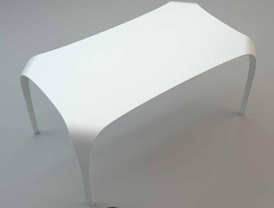 Domus arredi tavolo unico in tecnoril solo riflessi srl pu - Tavolo riflessi prezzo ...