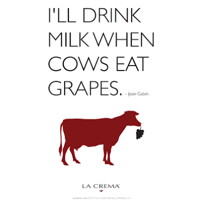 Wine Wit: Cow Quote