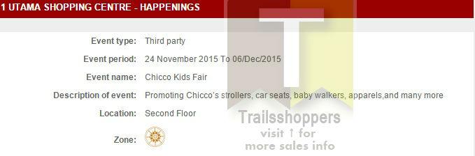 Chico Malaysia Kids Fair 1 Utama