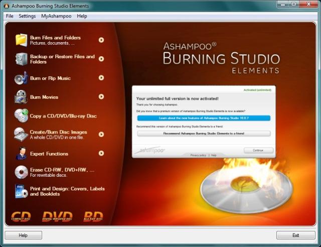 Baixar Ashampoo Burning Studio