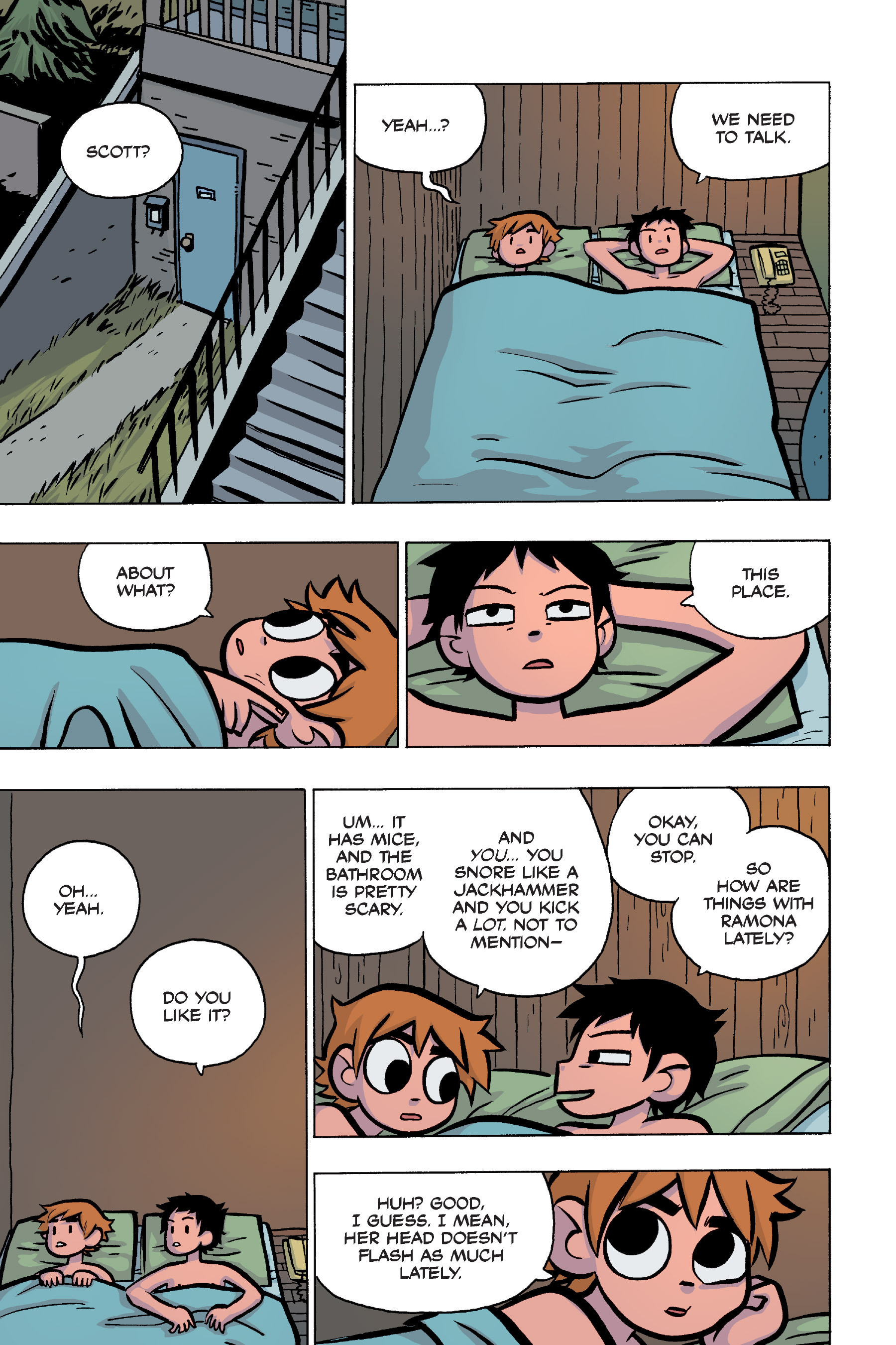 Read online Scott Pilgrim comic -  Issue #4 - 102