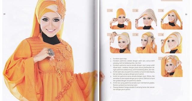CARA PAKAI HIJAB JILBAB: Cara Memakai Hijab Glamour