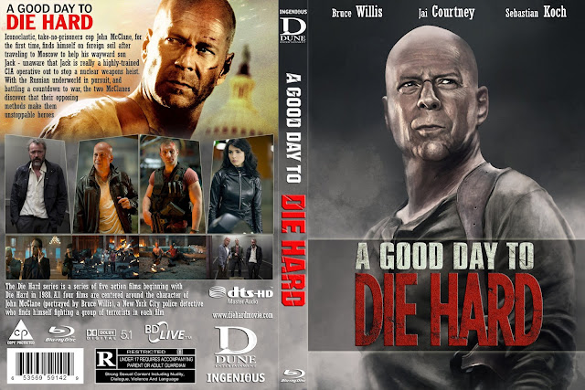 Capa Bluray A Good Day To Die Hard
