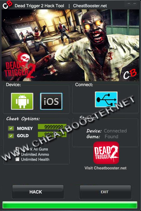 Download Dead Trigger Cheats
