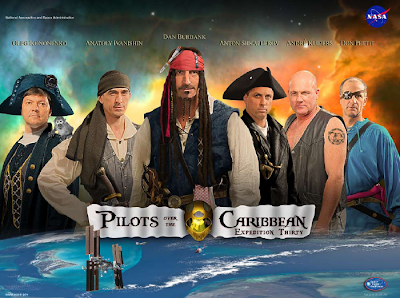 ISS Pirates of the Caribbean Takeoff