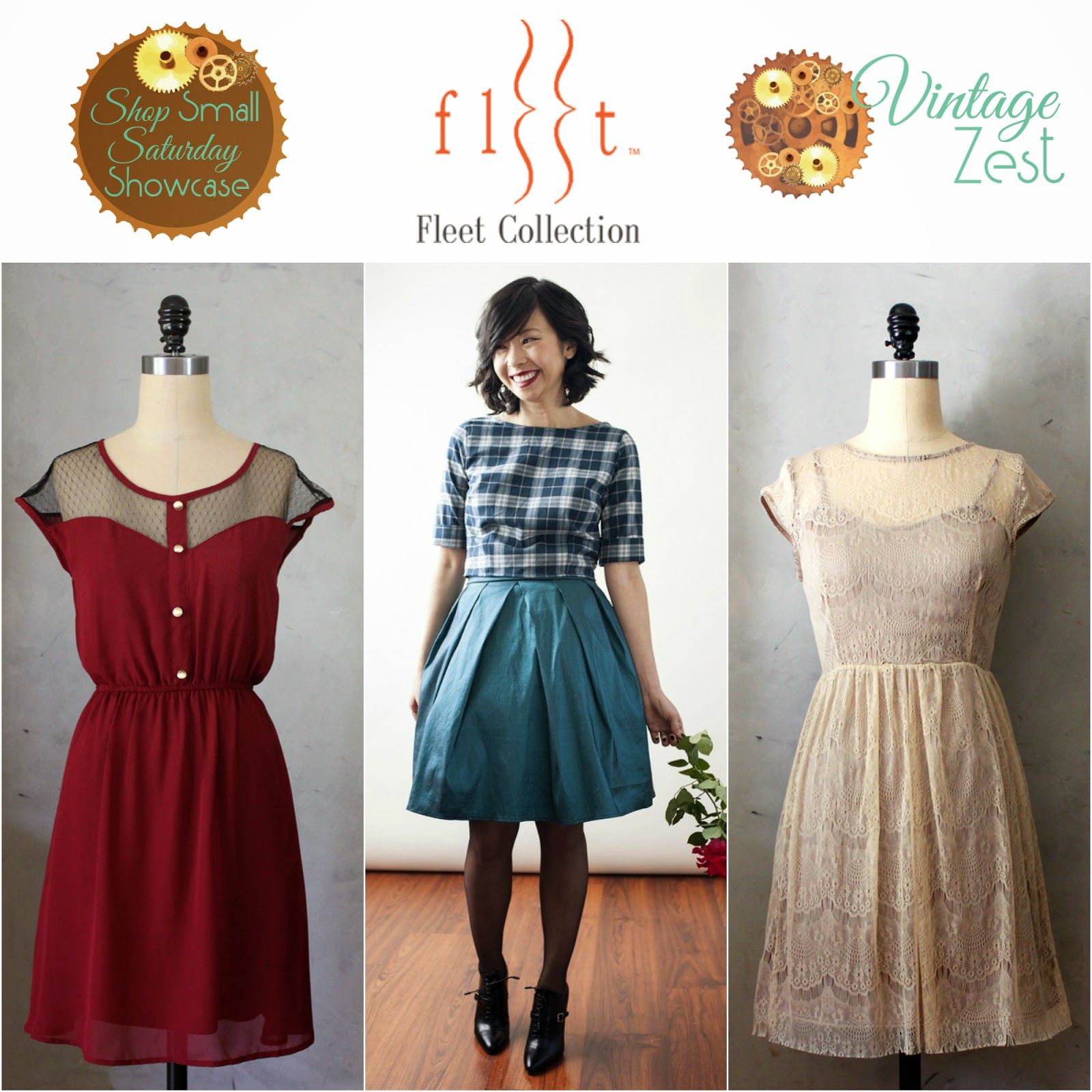 Fleet Collection feature on Shop Small Saturday Showcase at Diane's Vintage Zest!