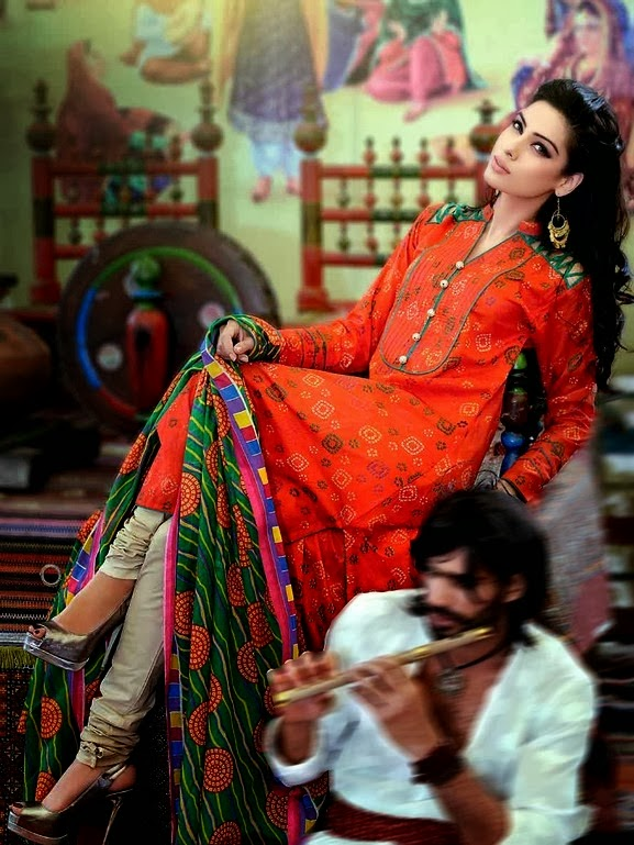 Gul Ahmed Chunri Lawn Collection