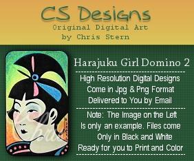 Harajuku Girls Digital Stamp Collection