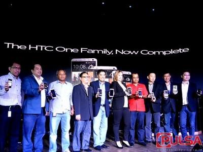 Resmi: Trio Smartphone HTC One Series Hadir di Pasar Ponsel Tanah Air