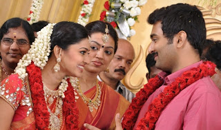 Actress Sneha and Actor Prasanna Engagement Stills