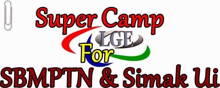 SUPERCAMP UI | BIMBEL MASUK UI | PROGRAM SUPER INTENSIF SBMPTN & SIMAK UI
