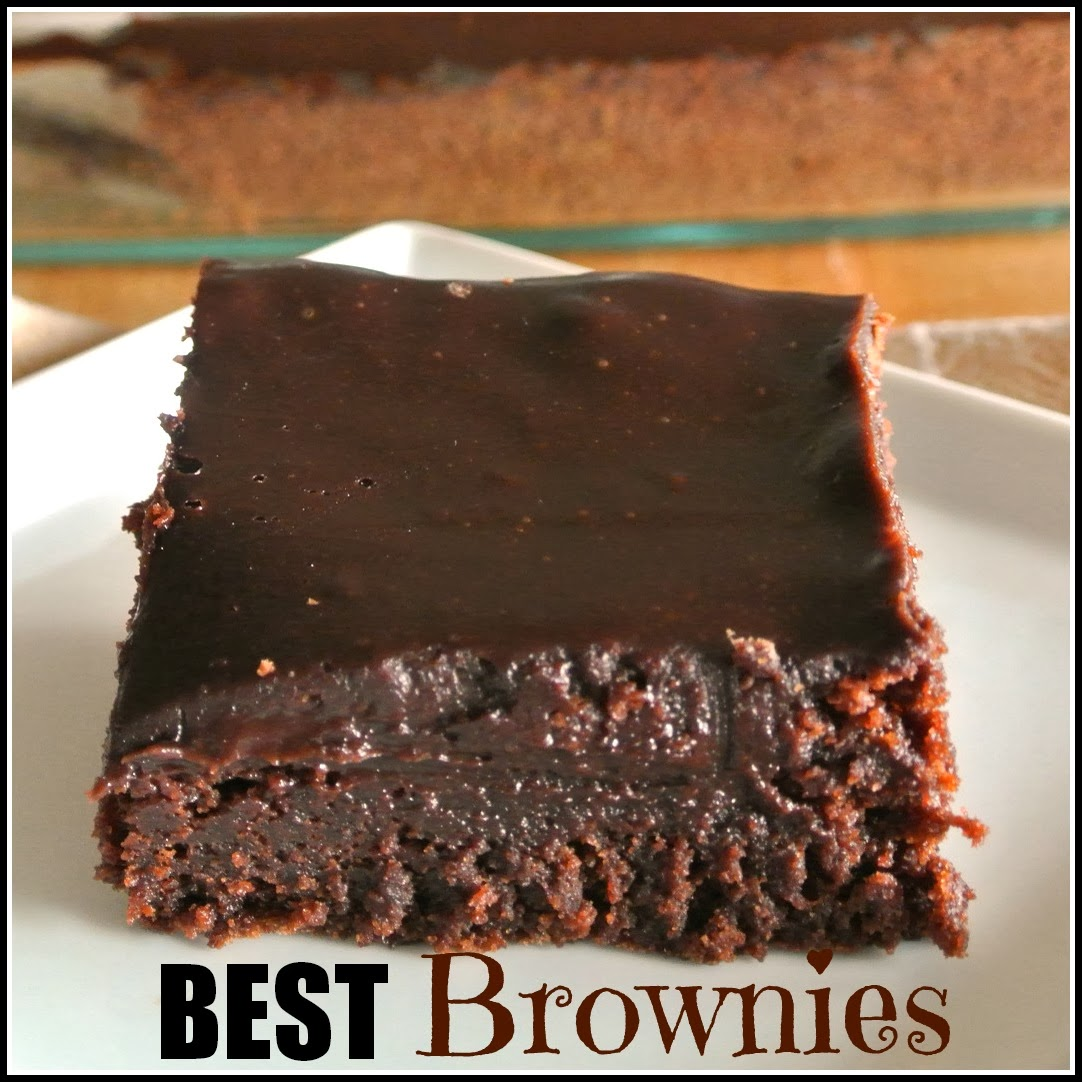 Gourmet Cooking For Two: The Best Homemade Brownies ever!