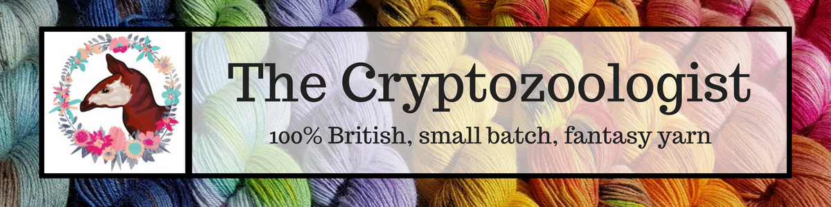 The Cryptozoologist | 100% British, small batch, fantasy yarn