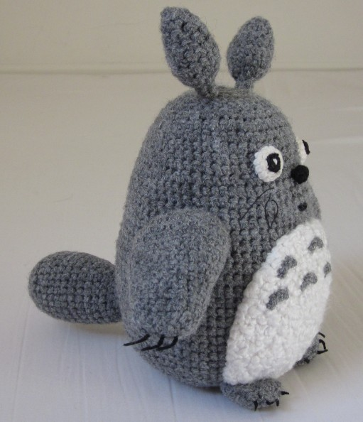 Knitting Pattern For Totoro Hat : Little Snails Workshop: Knitting Toy Totoro