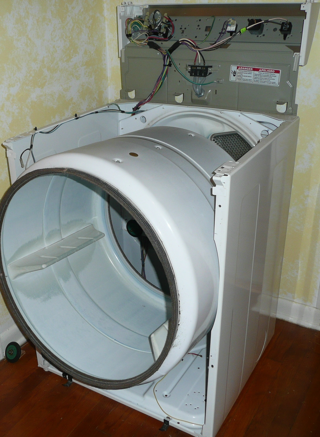 Do It Yourself: Kenmore 90 Series Model 110 Clothes Dryer is ...