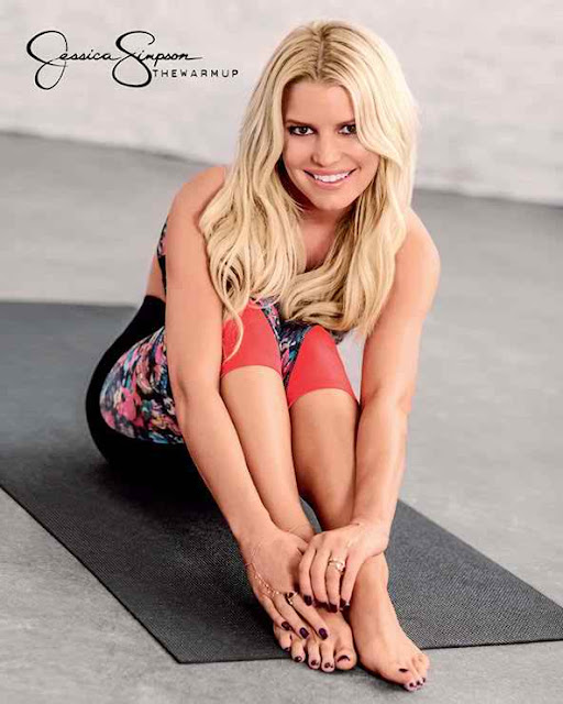 Jessica Simpson Debuts New Collection of Workout Clothes