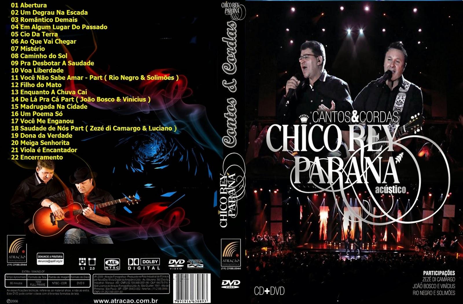 Chico Rey e Paraná Contos e Cordas Chico Rey e Paraná Contos e Cordas capa
