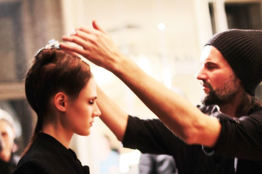 berlin fashion week augustin teboul backstage photo series