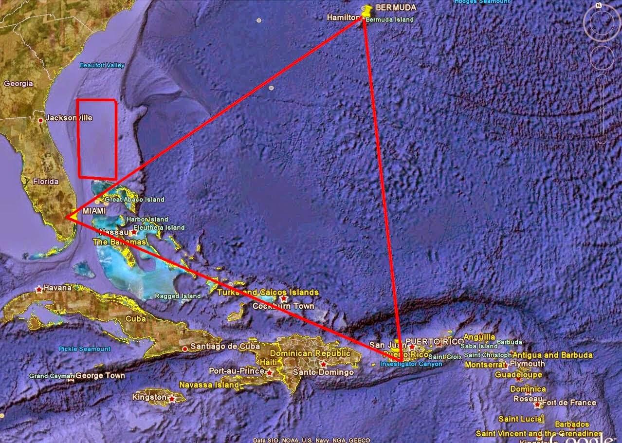 Adakah Misteri SEGITIGA BERMUDA Berkait Rapat Dengan Kehilangan MH370